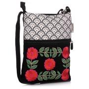 Pick Pocket Women's Sling Bag ( Black,slblkwemb52)
