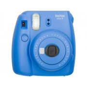 Fujifilm Kit Máquina Fotográfica Instantânea Instax Mini 9 (Cobalt Blue - Obturação: 1/60 sec - 2x Pilhas AA - 62x46mm)