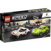 Porsche 911 RSR en 911 Turbo 3.0 Lego