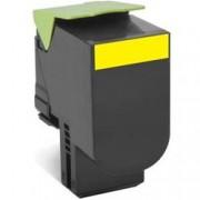 ORIGINAL Lexmark toner giallo 80C2HY0 802HY ~3000 Seiten cartuccia di stampa riutilizzabile
