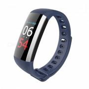 Measy G19 bluetooth V4.0 pulsera de fitness reloj inteligente pulso de presion arterial podometro banda inteligente - azul