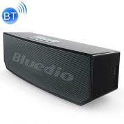 Bluedio BS-6 Portable Wireless Bluetooth 5.0 3D Stereo Smart Cloud Speaker with Mic(Black)