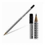 Creion Grafit Cu Guma Grip 2001 Faber-Castell, Tarie HB