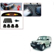 Auto Addict Car Black Reverse Parking Sensor With LED Display For Mahindra Old Scorpio