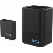 Incarcator acumulatori dublu GoPro + Baterie pentru Hero5 Hero6 uBlack