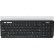 Logitech K780 RF Wireless + Bluetooth QWERTY US International keyboard - Grey/White