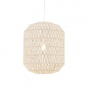 QAZQA Retro hanging lamp white 40 cm - Lina Hive 40