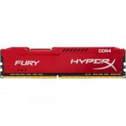 HYPERX Memoria RAM KINGSTON Hyperx Fury Red 8GB DDR4 2666Mhz CL16 DIMM 1RX8