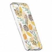 Husa Silicon Transparent Slim Toamna 109 Apple iPhone 5 5S SE