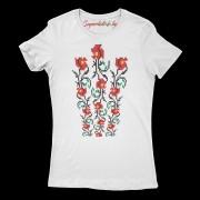 Тениска Шевица от рози
