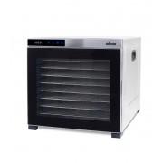 Deshidrator cu 10 tăvi Biovita DELUXE-10, carcasă și tăvi din inox de 38x38cm