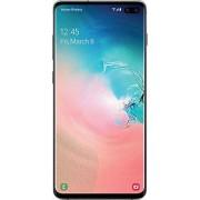 Samsung Galaxy B0 Teléfono desbloqueado de fábrica, reacondicionado certificado, S10+, 128 GB, blanco, (prism white)