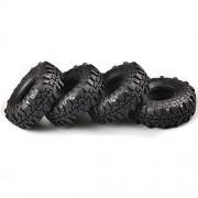 "Tradico® 4Pcs Set 1.9"" Super Swamper Rocks Tyre Tires for Rc 1/10 Climbing Rock Crawler"