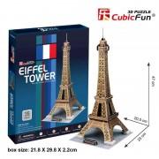 Cubicfun Turnul Eiffel Paris Franta Puzzle 3D 35 de piese