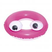 BSTW Opblaasbare zwemband roze 61 cm voor kinderen