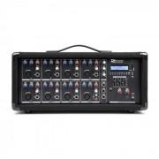 Power Dynamics PDM-C805A mesa de mezclas de 8 canales con amplificador, USB y ranura SD (Sky-171.159)