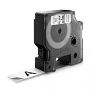 Dymo D1 DY45803 laminált feliratozószalag 19 mm fekete/fehér