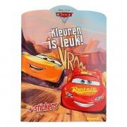 Lobbes Disney Cars 3 Kleurboek met Stickers