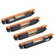 ZipZap CF350A/CF351A/CF352A/CF353A Pack 4 Tóners HP