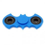 Premsons Three Bearing Material Hand Spin Toy Bat Fidget Spinner (Blue and Black Wing Bearings)