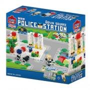 Japan Lego - Artech ArTec block Town Square Series Police Station (70 pieces) *AF27*