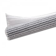 Sleeving Techflex F6 Sleeve 6,4mm, clear/white