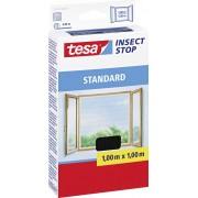 Plasă pentru fereastră contra ţânţarilor tesa ® Standard, 1 m x 1 m, antracit