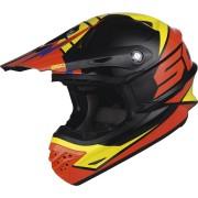 Scott 350 Pro Podium Motocross hjälm Svart Orange L