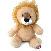 "Zoo Animals 8"" Lion with Animal Sounds Cuddle Barn"