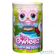 Owleez: Interaktív Bagoly - Rózsaszín (Spin Master, 6053359)