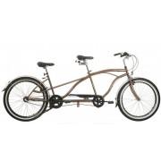 Neuzer Twilight tandem kerékpár Barna