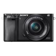 Sony Korpus + obiektyw Sony Alpha ILCE-6000 + obiektyw Sony SELP 16-50mm czarny