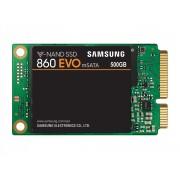SSD mSATA 500GB Samsung 860 EVO 3D NAND 550/520MB/s, MZ-M6E500BW