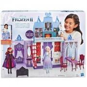 Забaвен комплект за игра Замръзналото кралство 2 - Сгъваем замък Арендел, 0340484