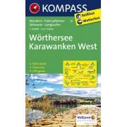 Kompass Carta N.61: Wörthersee, Karawanken West 1:50.000