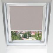 Livani Store pour les fenêtres de toit, Sur mesure, Lin