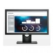 """Монитор Dell E2016H (E2016H-B), 19.5"""" (49.53 cm), TN панел, WXGA, 5ms, 1000:1, 250 cd/m2, Display Port, D-Sub"""