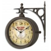 """Стенен часовник и термометър """"Носталгия"""" - 60.3011"""
