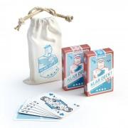 Kartenspiel 2er Set im Seesack KlarDeck!