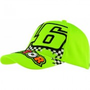 VR46 46 The Doctor Cap Giallo unica taglia