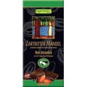 Ciocolata Bio Amaruie 55% Cacao si Migdale Rapunzel 80gr