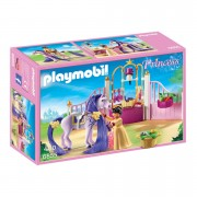 Playmobil Princess Castle Stable with Horse Mane to Comb (6855)