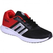 LANCER BLACK RED COLOR COMFORTABLE RUNNING / LIFESTYLE SPORTS SHOES FOR MEN