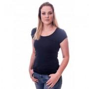 Claesens Women T-Shirt Round neck s/s Navy ( cl 8015 ) - Blauw - Size: Medium