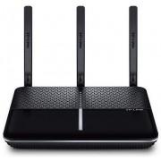 Router Wireless TP-LINK Archer VR600, Gigabit, Dual Band, VDSL/ADSL Modem, 1600 Mbps, 3 Antene externe (Negru)