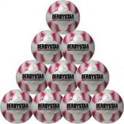 Derbystar Fußballpaket (10 Stück) APUS PRO S-LIGHT - weiß/rot | 5