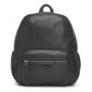 Babymel Luna Faux Leather Diaper Backpack black