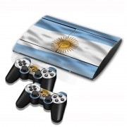 Sony Argentine Vlag patroon Stickers voor PS3 Game Console