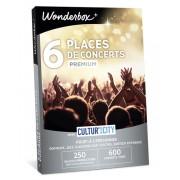 Wonderbox Coffret cadeau 6 Places de concerts Premium - Cultur'In The City - Wonderbox