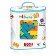 Primele cuburi de construit Dolu 150 piese Multicolor